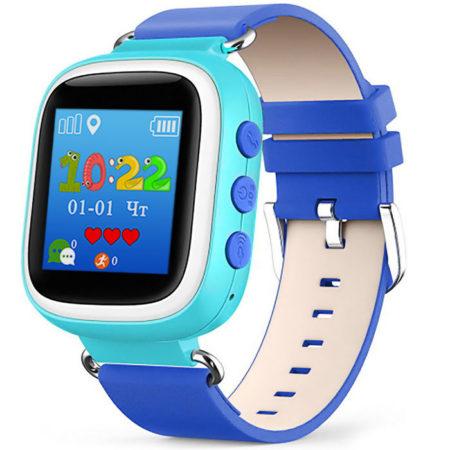 Детские часы с GPS Baby Watch Q60s голубые