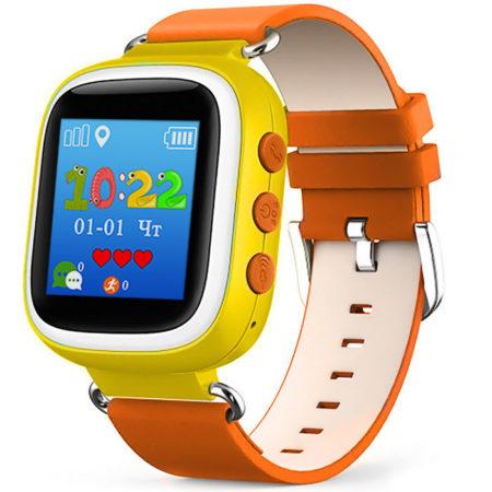 Детские часы с GPS Baby Watch Q60s оранжевые