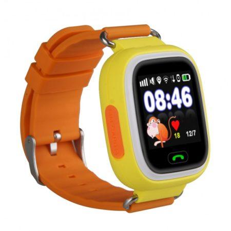 detskie-chasy-s-gps-baby-watch-q90-s-sensornym-cvetnym-ekranom-oranzhevye